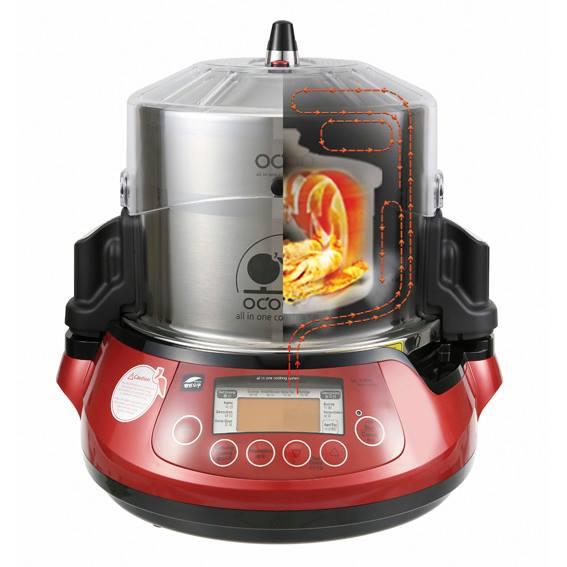 Ocoo, maquina de doble cocción
