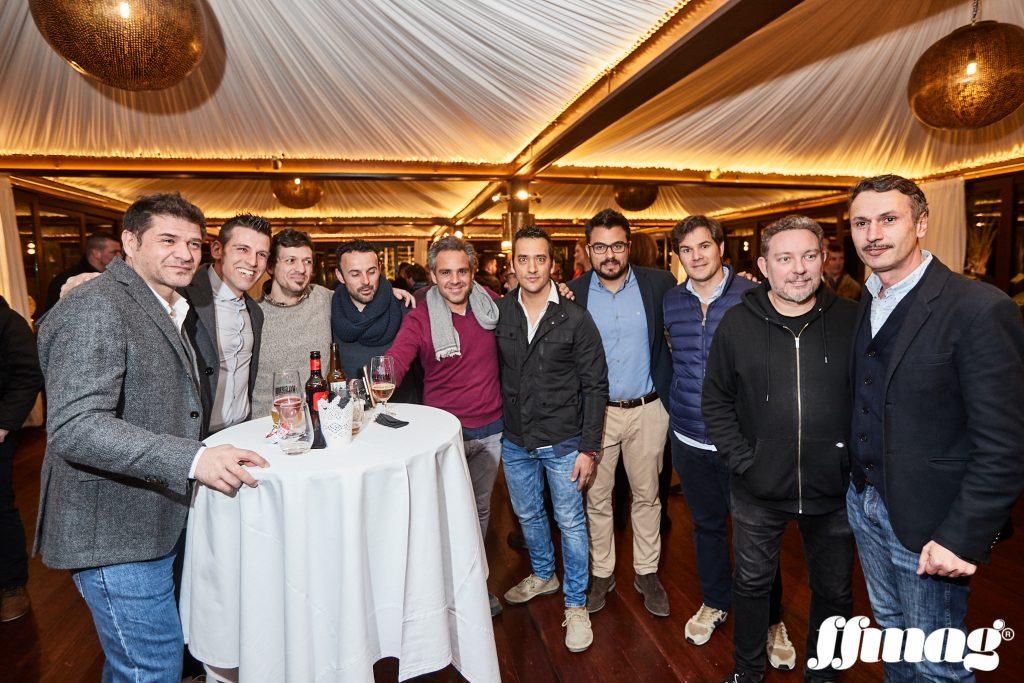 Reunión de profesionales del mundo de la gastronomía