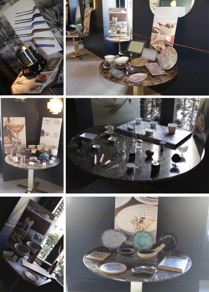 Decoración espacio Café Comercial para la presentación del Catálogo General de Klimer 2018