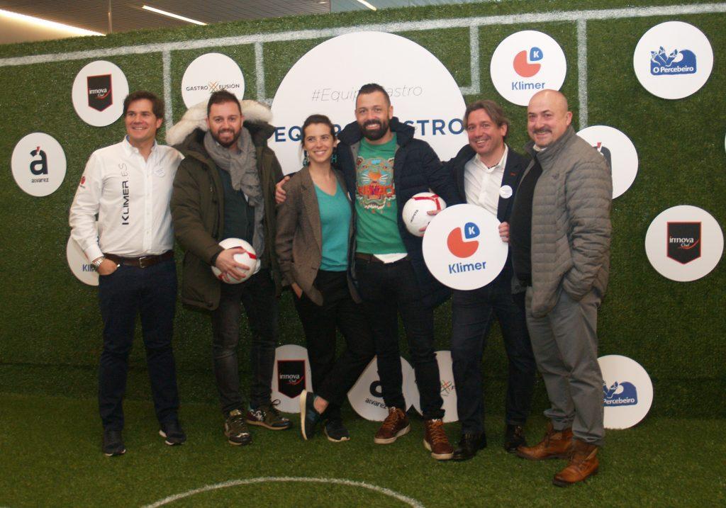 David Ramos, Alvaro e Ivan de Arzábal, Alejandra Ansón, Alex Patullé