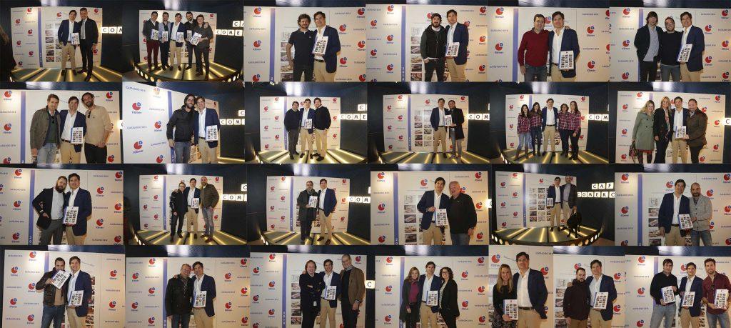 Asistentes al evento de la presentación del Catálogo General de Klimer 2018