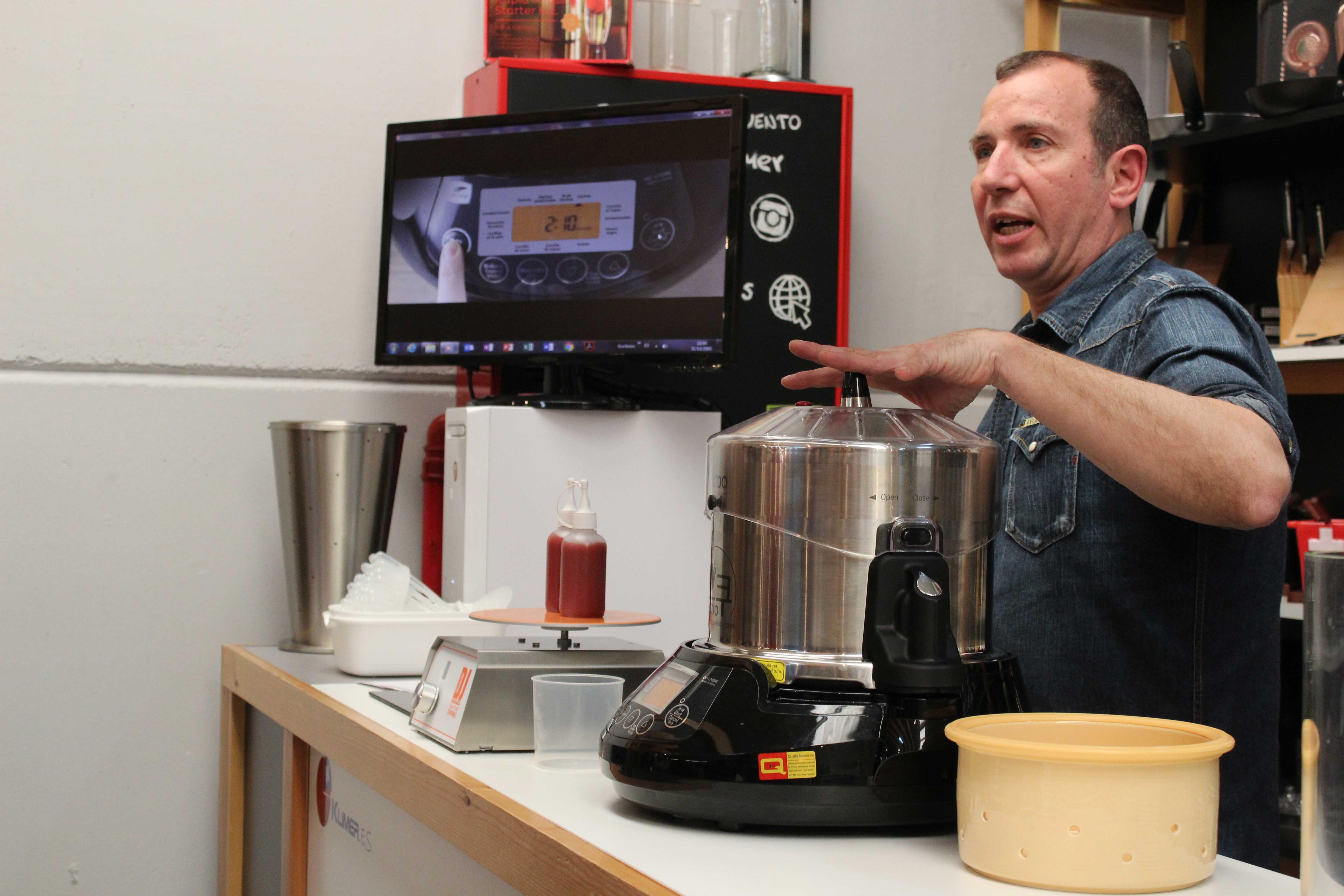 Curso de nuevas herramientas de cocina con 100x100 chef