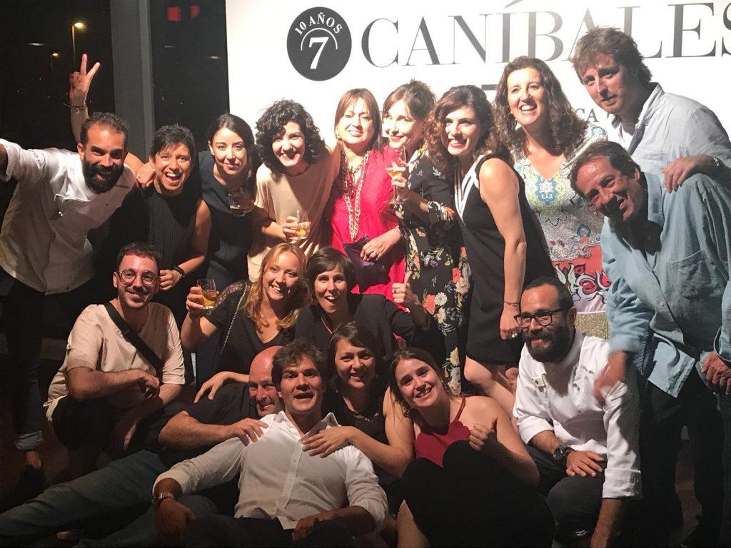 Invitados al evento del 10 Aniversario de 7 Caníbales