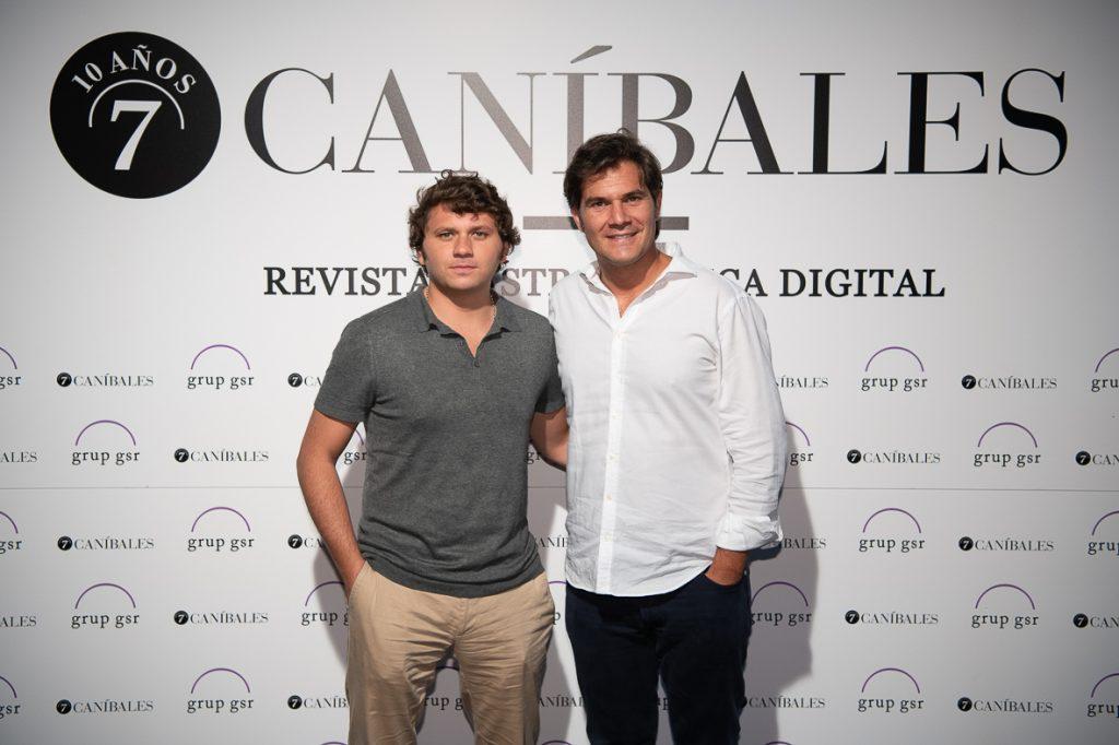 David Ramos (Klimer) y Guillermo Davila (Brandelicious) Foto: Miquel Coll.