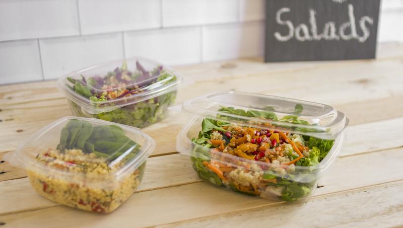 Envases biodegradables para comida