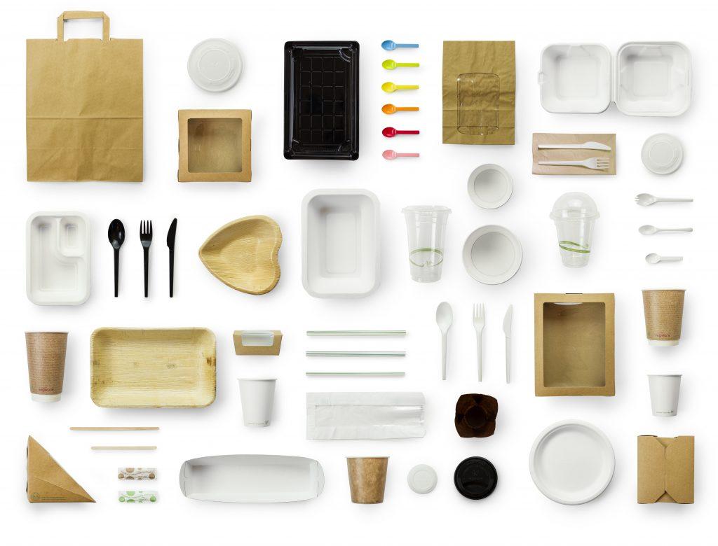 Productos biodegradables, colección 100% Biodegradable