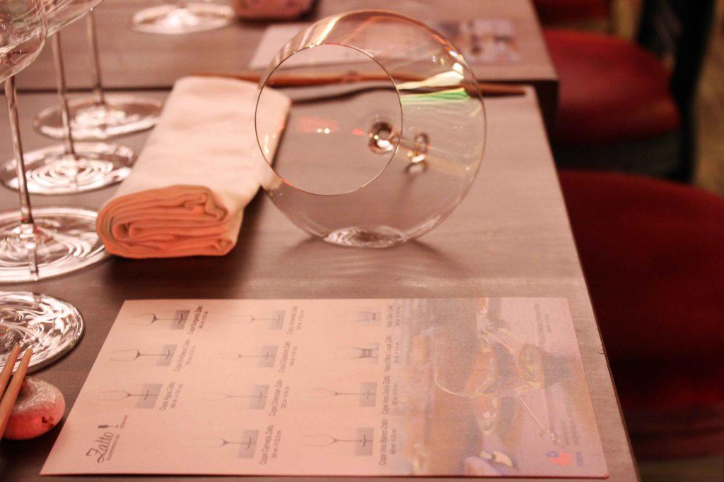 Copa Gravity de la colección Denk'Art de Zalto