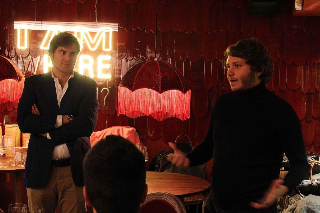 Guillermo Davila (Brandelicious) y David Ramos (Klimer) presentan copas Zalto