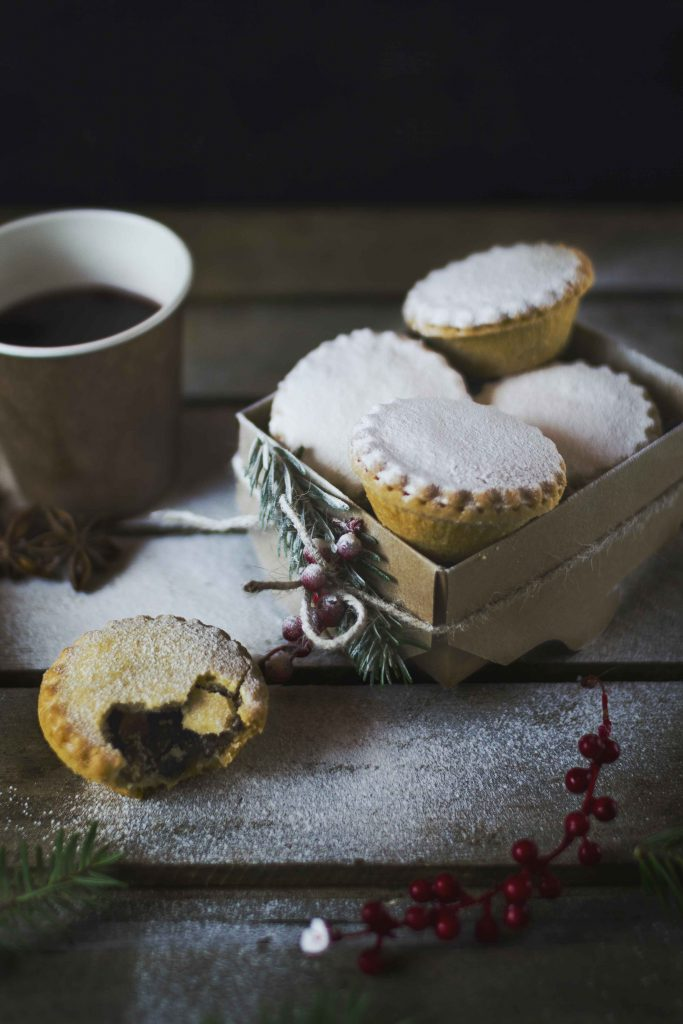 Envase kraft para navidad en tu catering biodegradable
