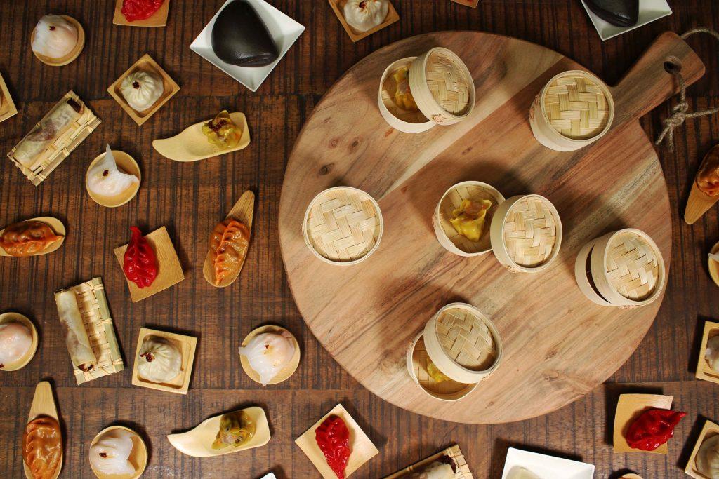 Bandejas de madera y miniaturas biodegradables