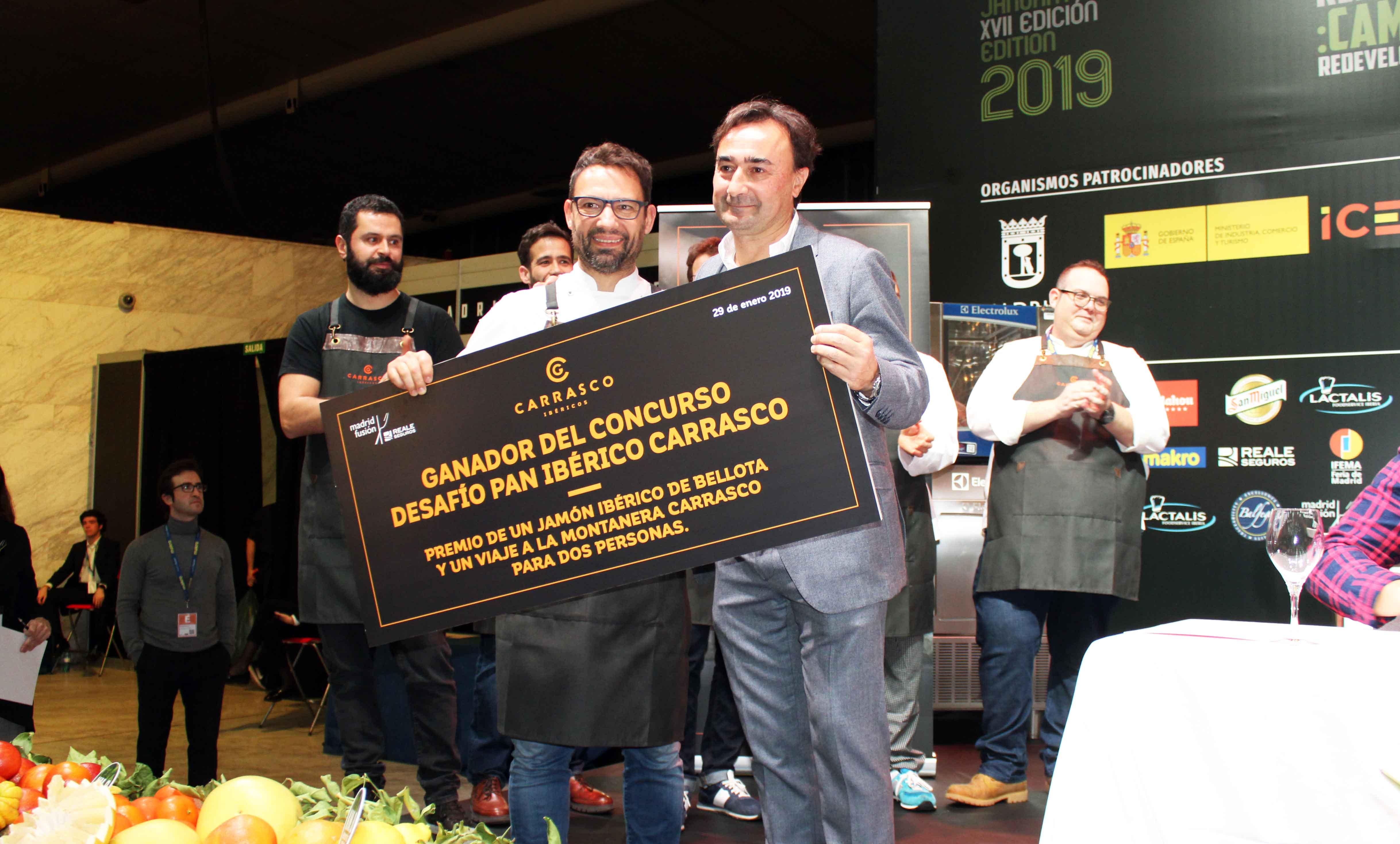 Marc Martí de Triticum gana el desafío pan Ibérico de Carrasco Guijuelo