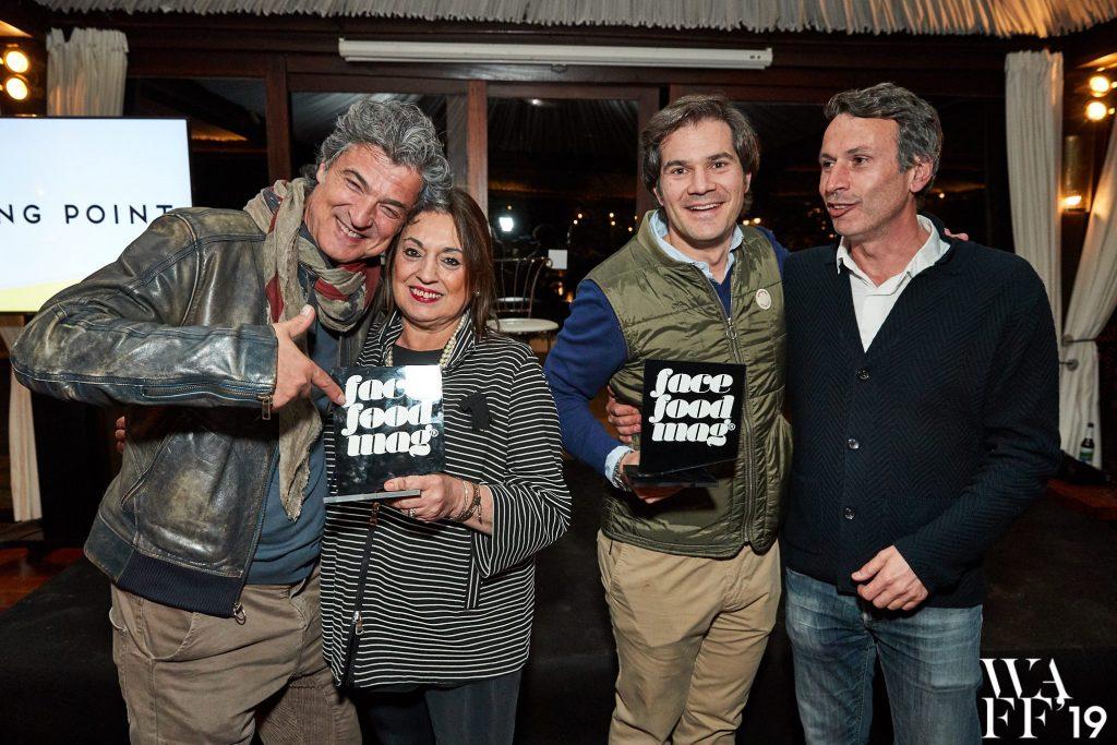 David Ramos y Roser Torras reciben el premio honorífico We are Facefood