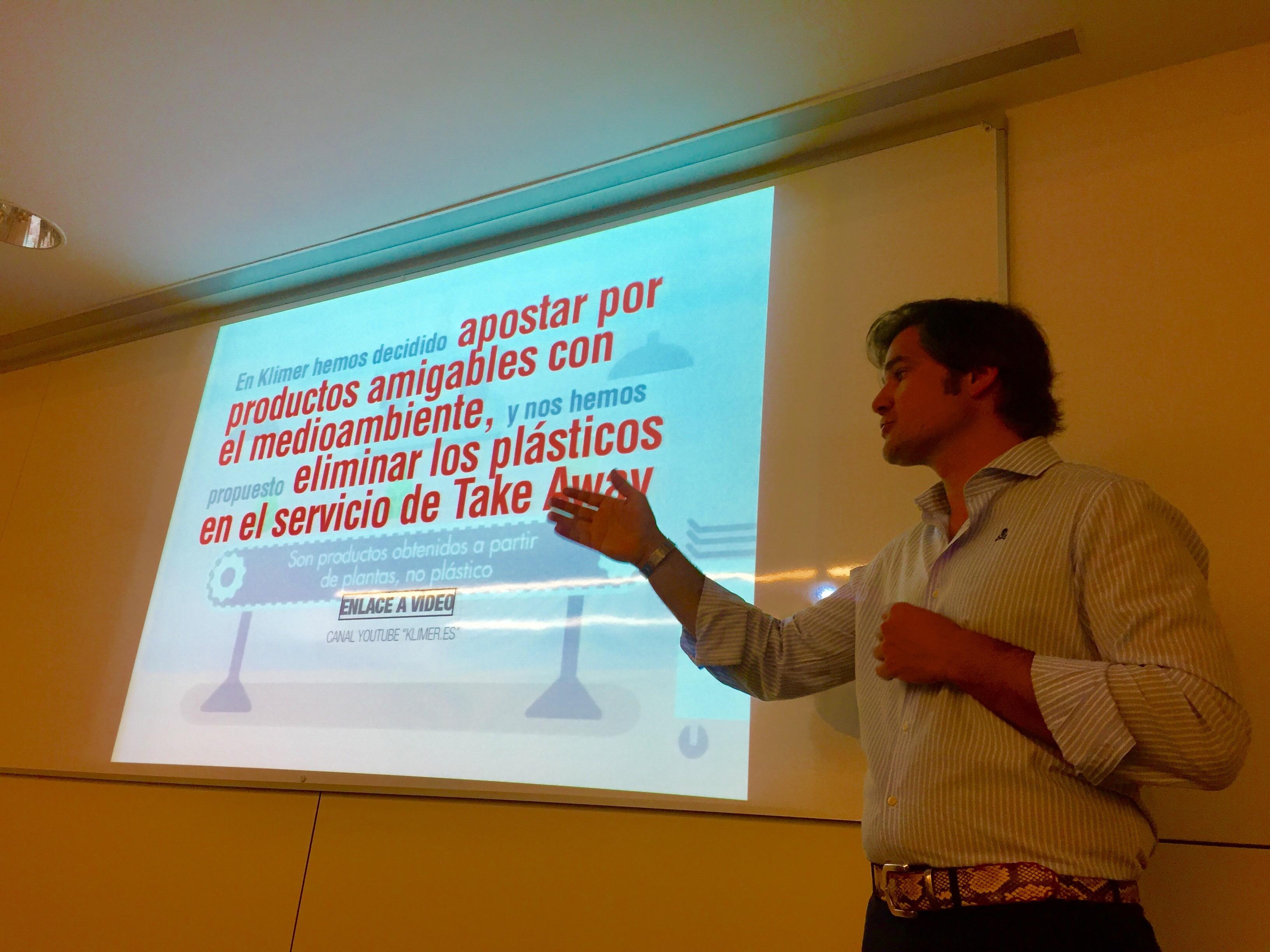 David Ramos expone en el CETT el movimiento BIOKlimer