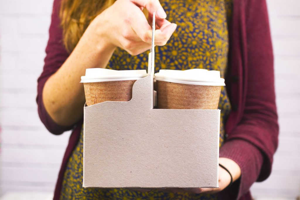 Envase para take away biodegradable