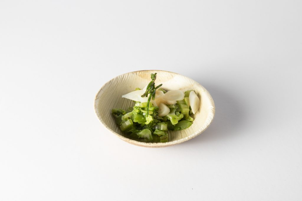 4. Begoña Rodrigo, Gastronomika 2019. Plato palma