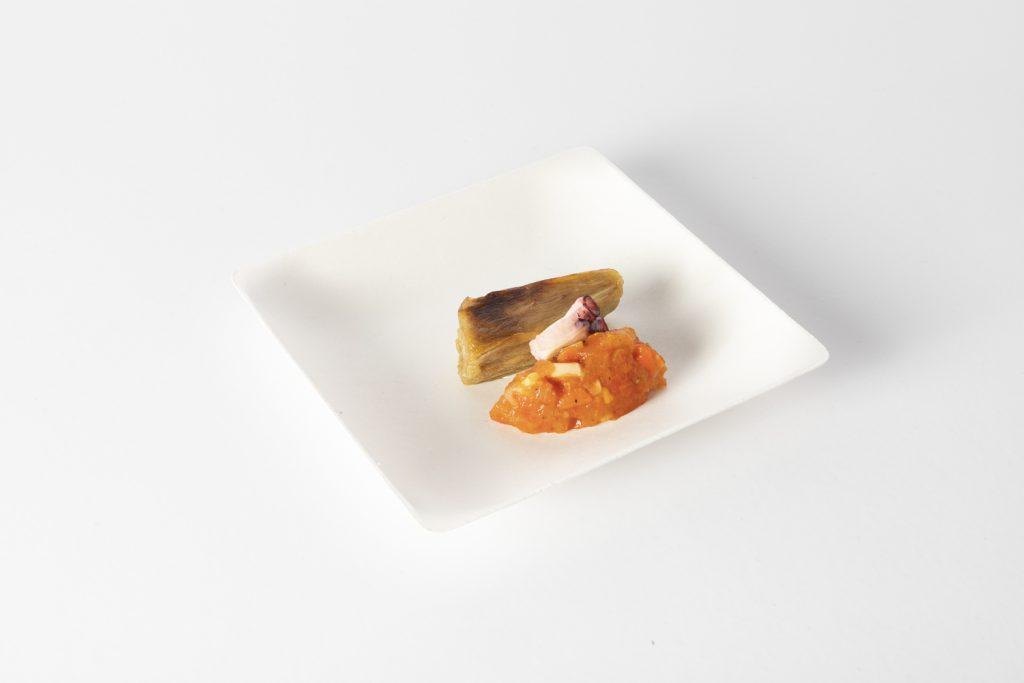 4. Najat Kaanache, Gastronomika 2019. Plato pulpa de caña de azúcar