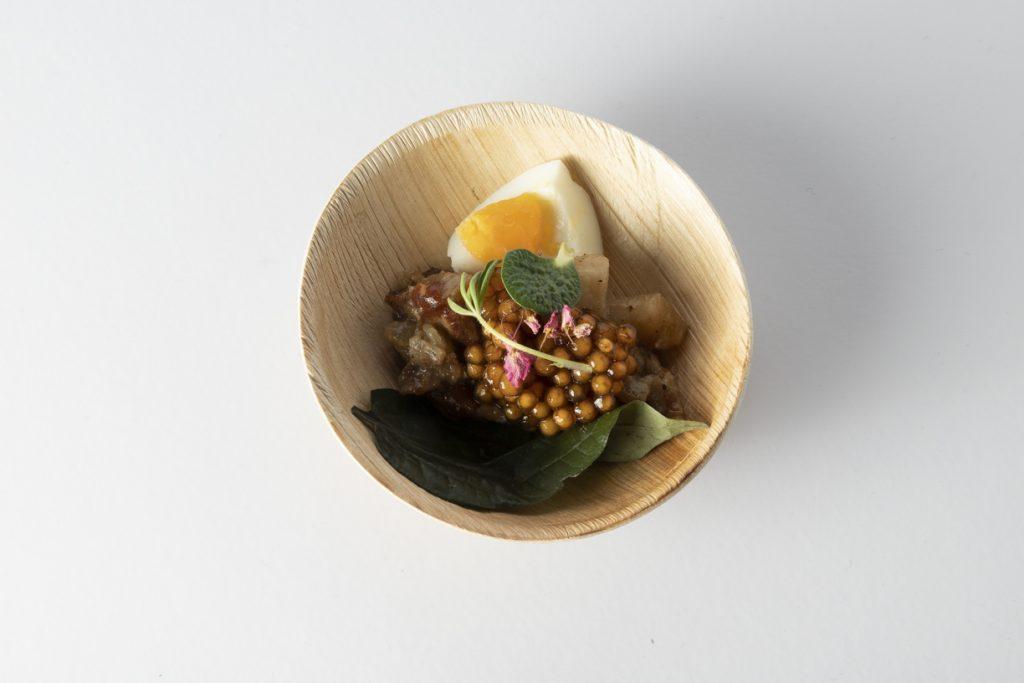 1. Sau del Rosario, Gastronomika 2019. Plato palma