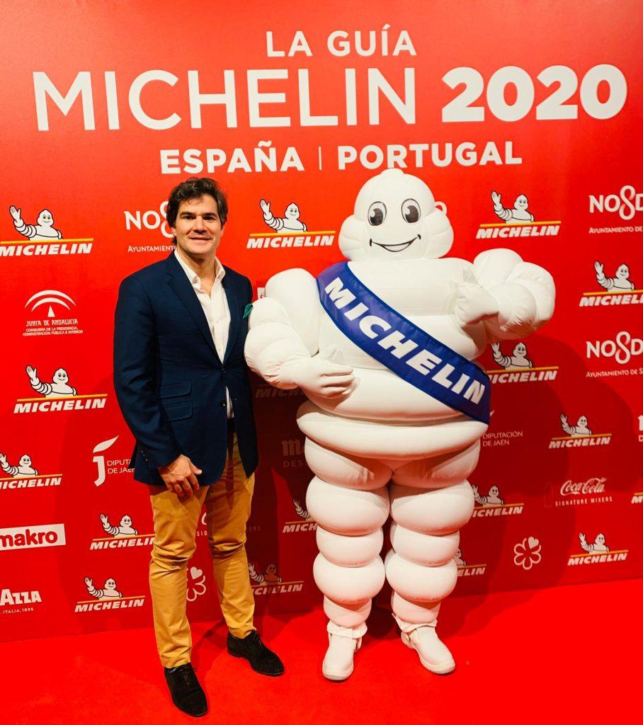 David Ramos en la gala de las Estrellas Michelín