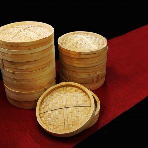 Vaporeras gigantes de bambú