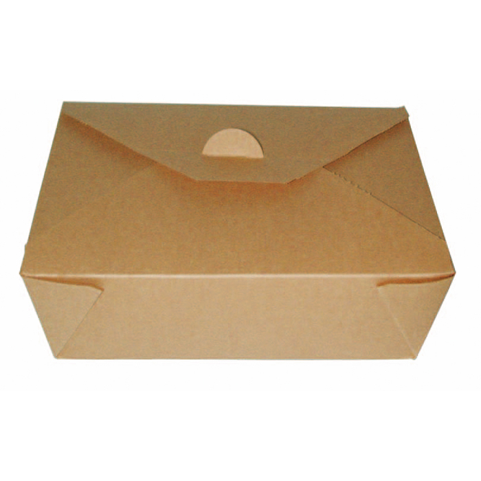 Caja biodegradable de cartón kraft. Varias medidas