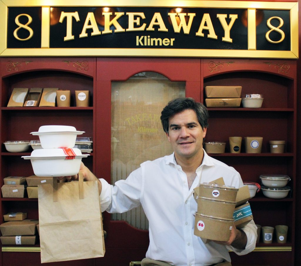 David Ramos, CEO de Klimer, recomienda a los hosteleros invertir en take away