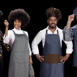 Uniformes para chefs temporada 2020