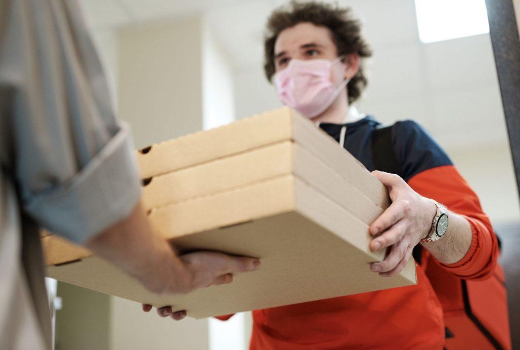 Delivery, comida de entrega a domicilio para restaurantes