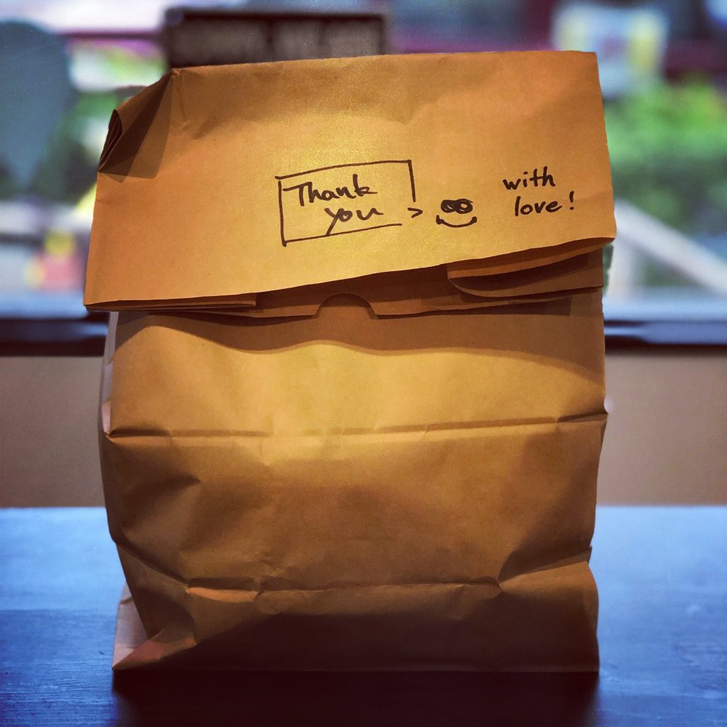 Packaging para delivery