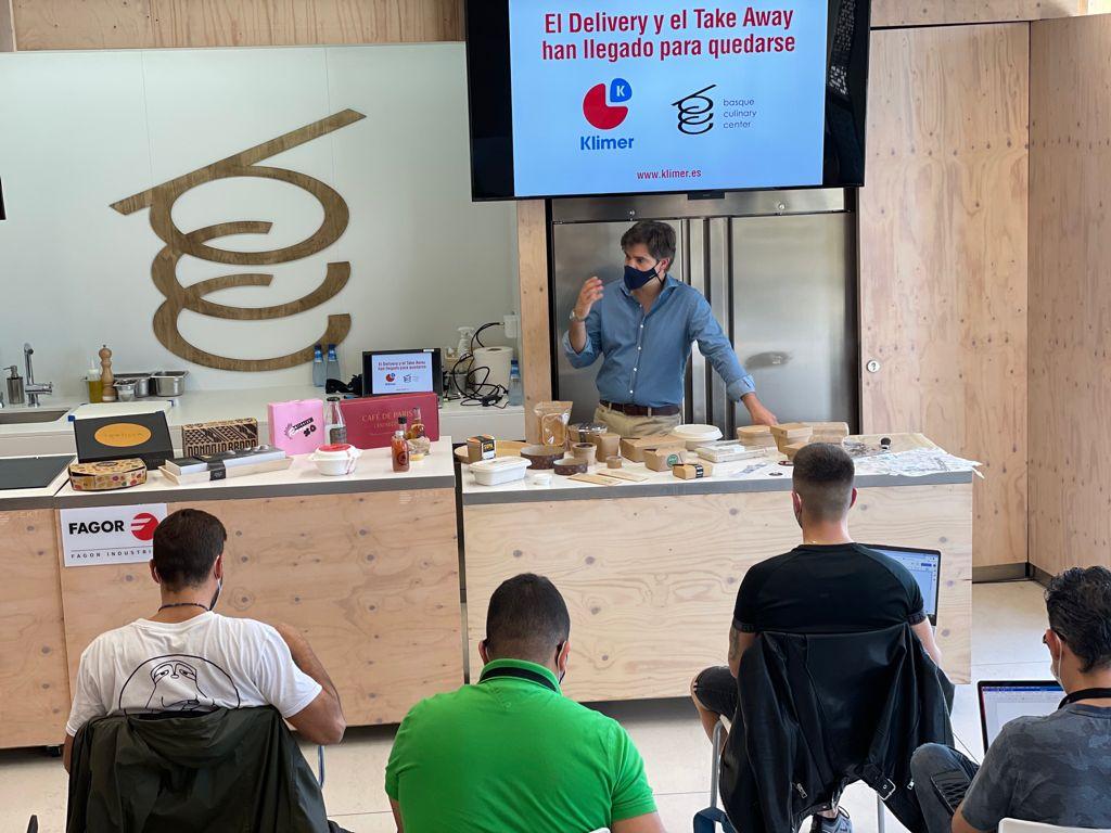 David Ramos Ponente en el Basque Culinary Center